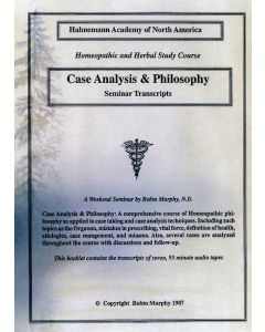 Case Analysis and Philosophy Seminar Transcripts