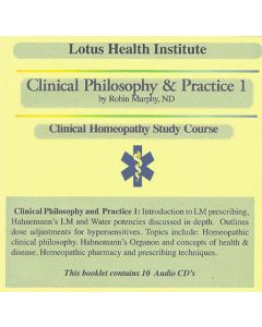 Clinical Philosophy & Practice 1