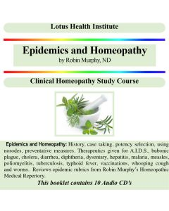 Epidemics and Homeopathy (A & B)