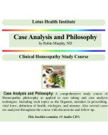 Case Analysis and Philosophy (A & B)